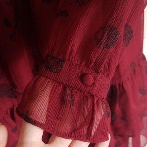 BB Dakota Dresses - Red Country Chic Dress